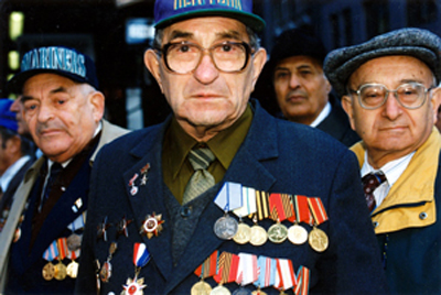 grandpa with medals